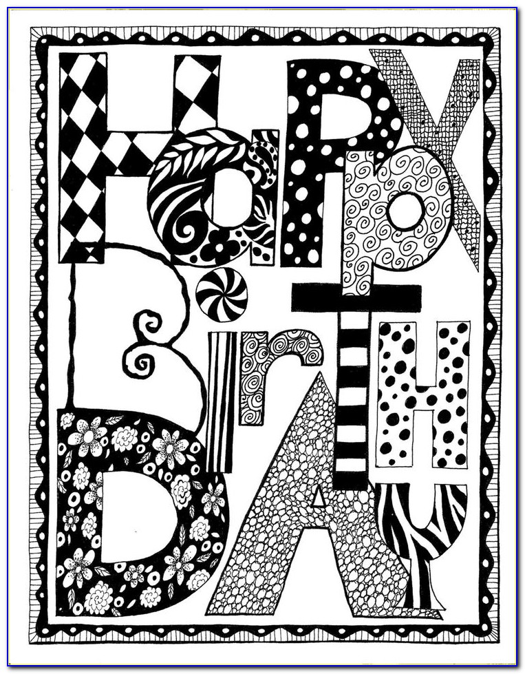 Free Printable Black And White Birthday Party Invitations