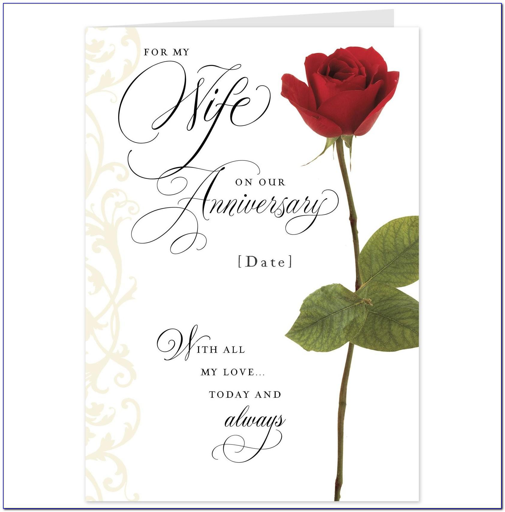Free Printable Christian Anniversary Cards For Wife