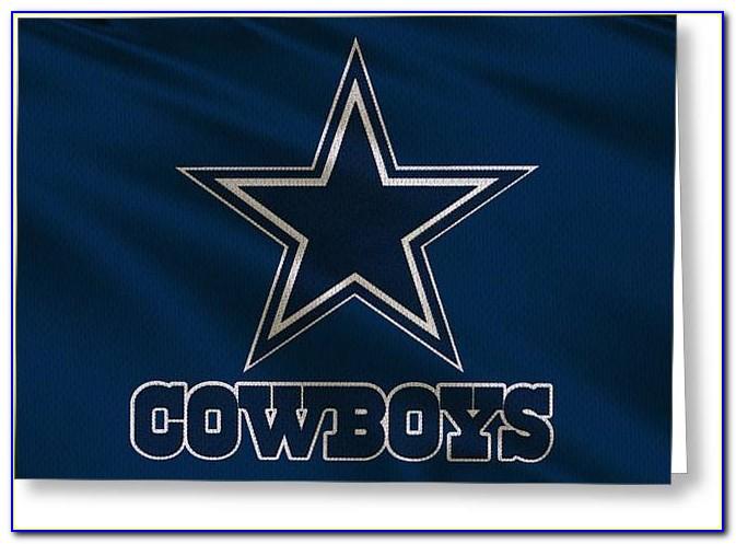 Free Printable Dallas Cowboys Birthday Card