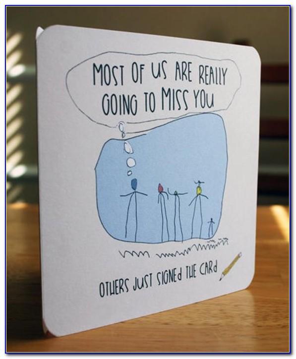 Free Printable Farewell Good Luck Cards
