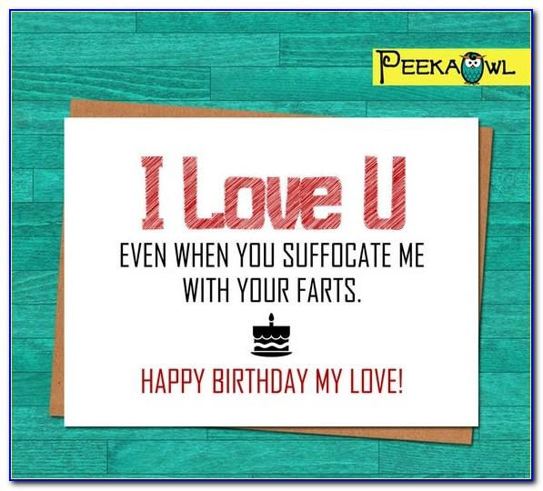 Free Printable Funny Anniversary Cards For Husband