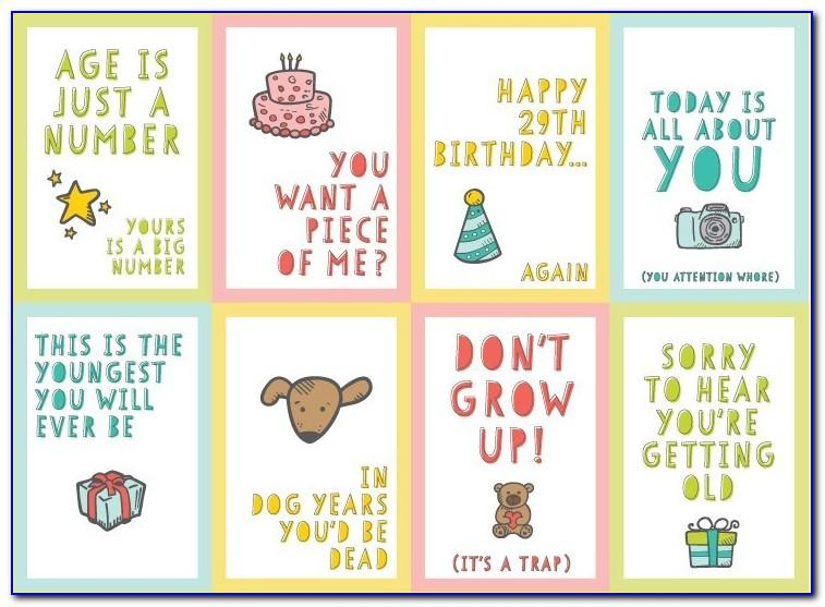 Free Printable Funny Birthday Cards For Best Friends