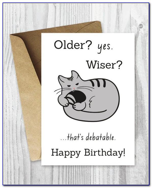 Free Printable Funny Birthday Cards For Her