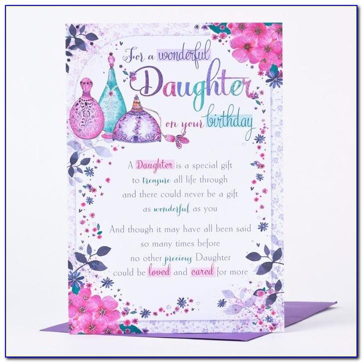 Free Printable Happy Birthday Cards For Daughter