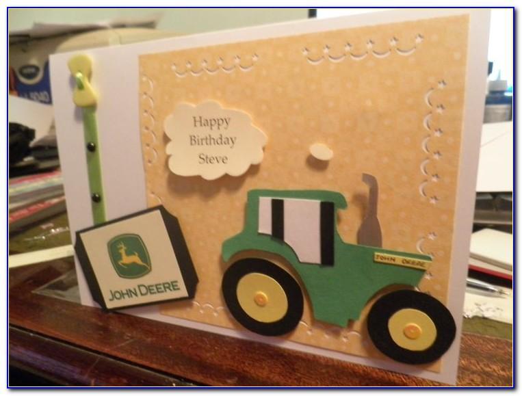 Free Printable John Deere Birthday Cards