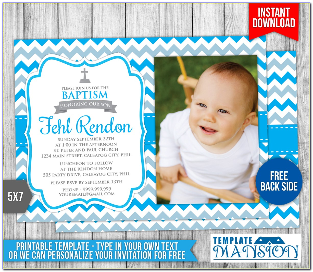 Free Printable Lds Baptism Cards