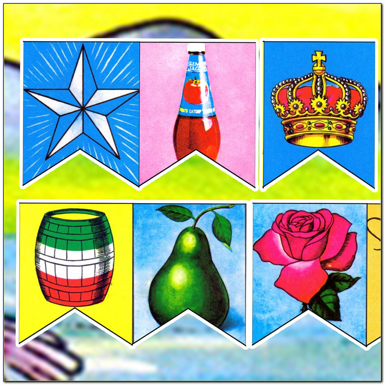 Free Printable Loteria Game Cards