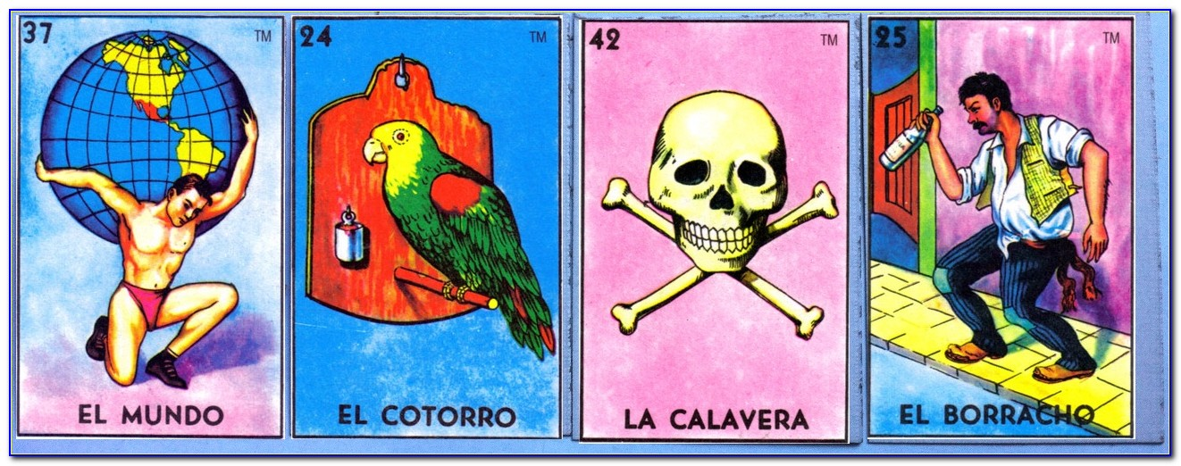 Free Printable Mexican Loteria Cards