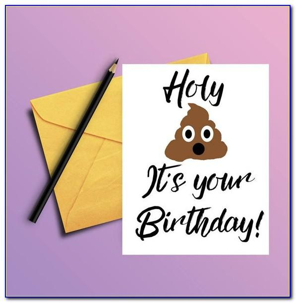 Free Printable Naughty Birthday Cards For Him