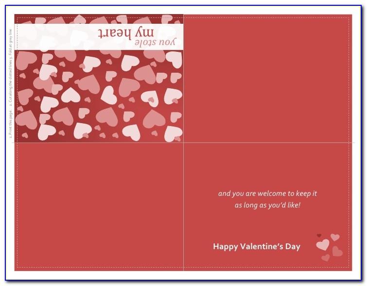 Free Printable Quarter Fold Birthday Cards
