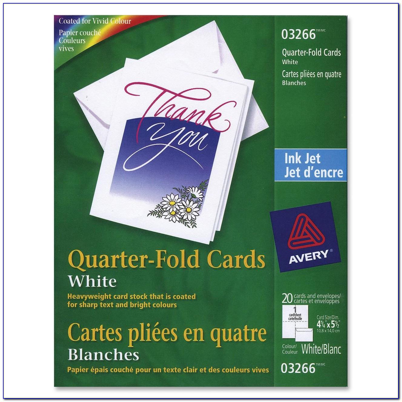 Free Printable Quarter Fold Thank You Cards