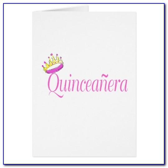 Free Printable Quinceanera Birthday Cards