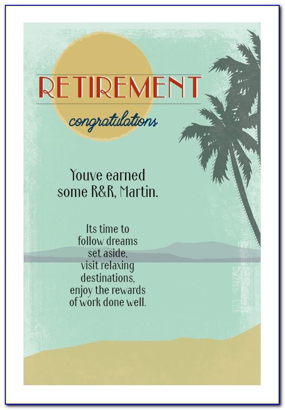 Free Printable Retirement Cards Online