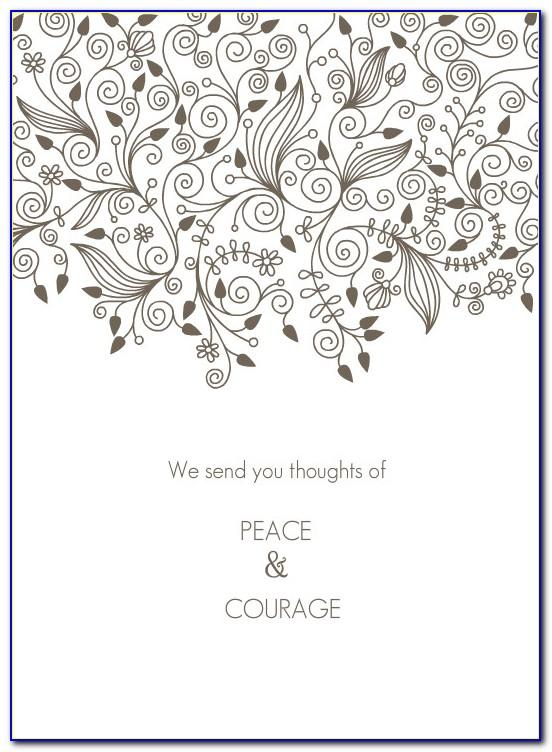 Free Printable Sympathy Cards For Loss Of Grandmother