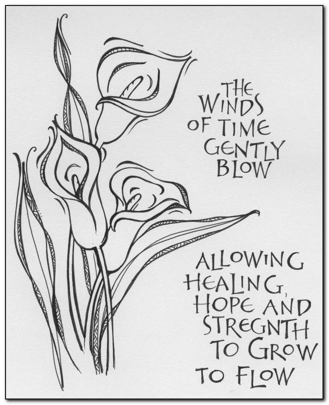 Free Printable Sympathy Cards To Color