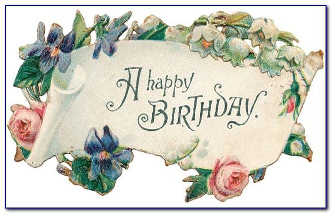 Free Printable Vintage Birthday Cards
