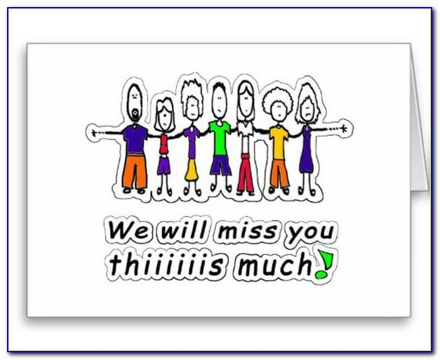 Free Printable We Miss You Cards