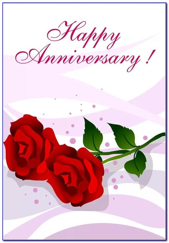 Free Printable Wedding Anniversary Cards For Wife