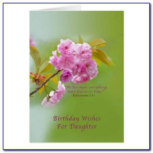 Free Religious Birthday Card For Daughter