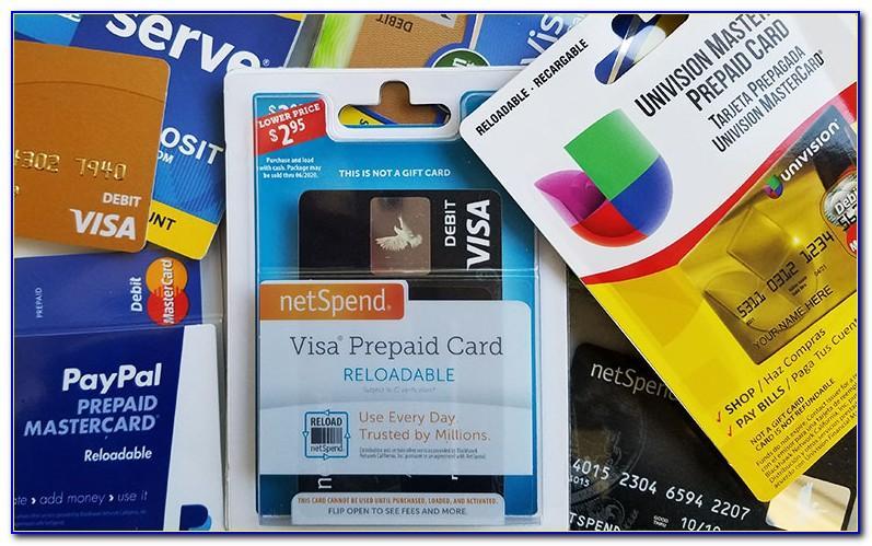 Free Reloadable Visa Prepaid Card