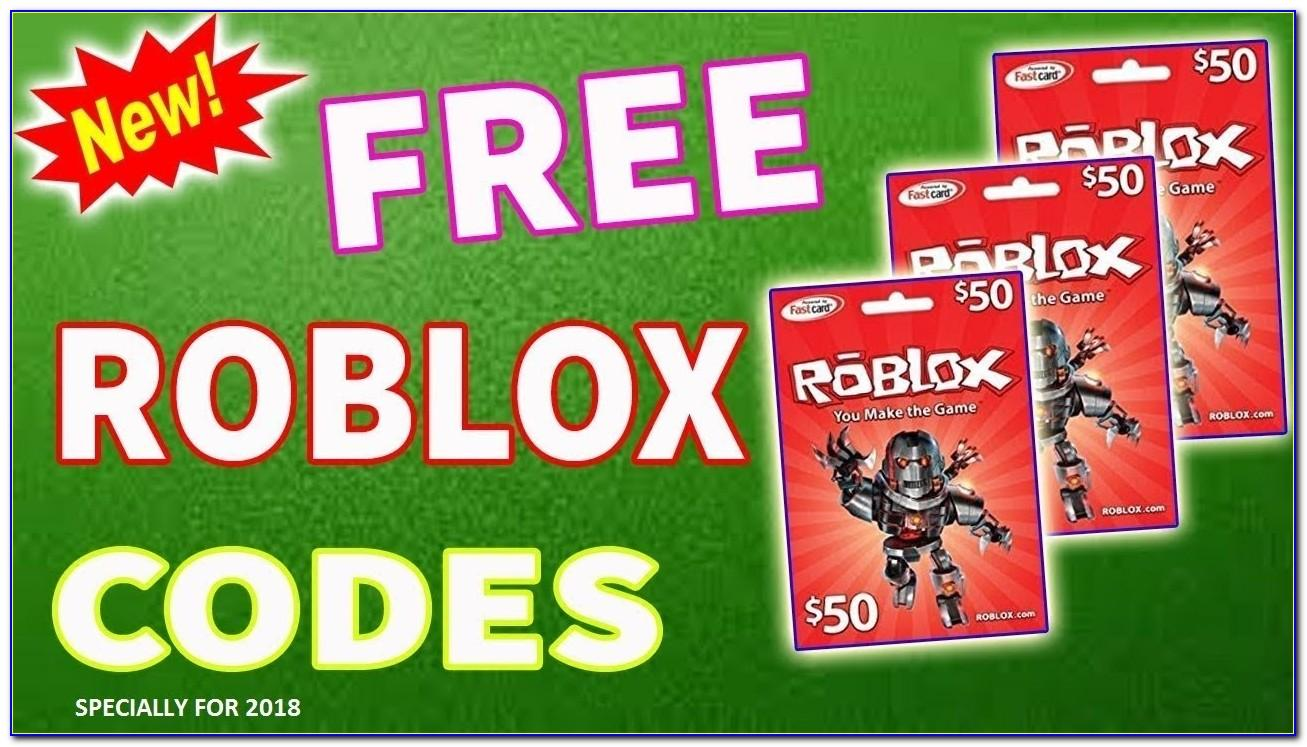 Free Roblox Cards Code