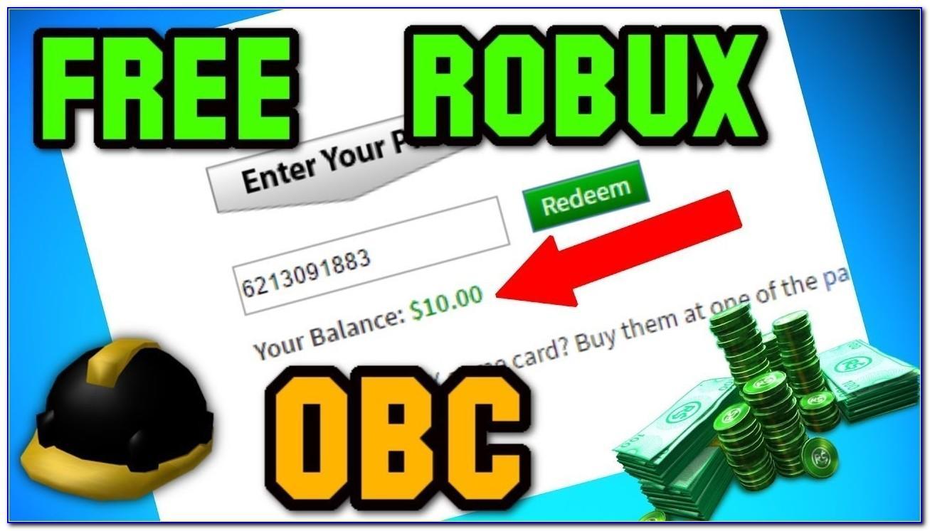 Free Robux Cards No Verification