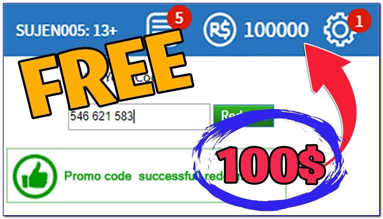 Free Robux Redeem Card Codes 2019