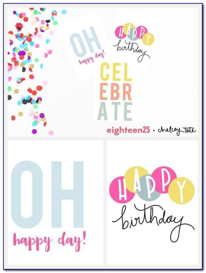 Free Singing Birthday Greeting Cards
