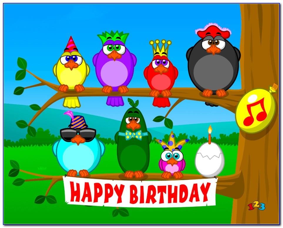Free Singing Email Birthday Cards