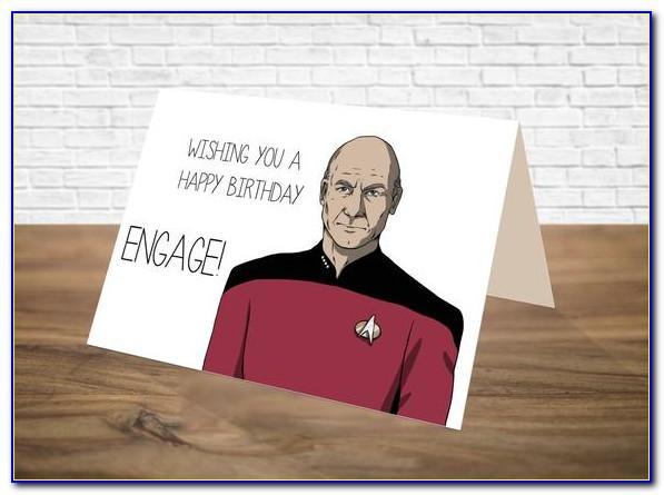 Free Star Trek Birthday Cards Online