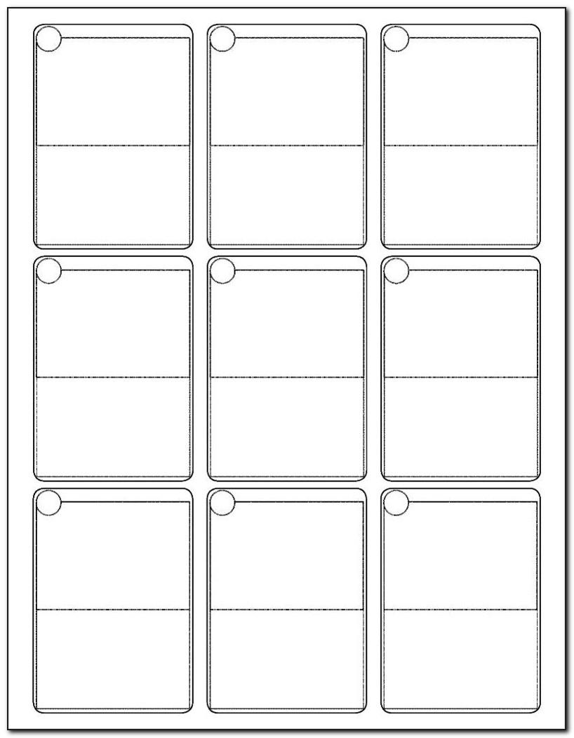 Free Trading Card Template Word