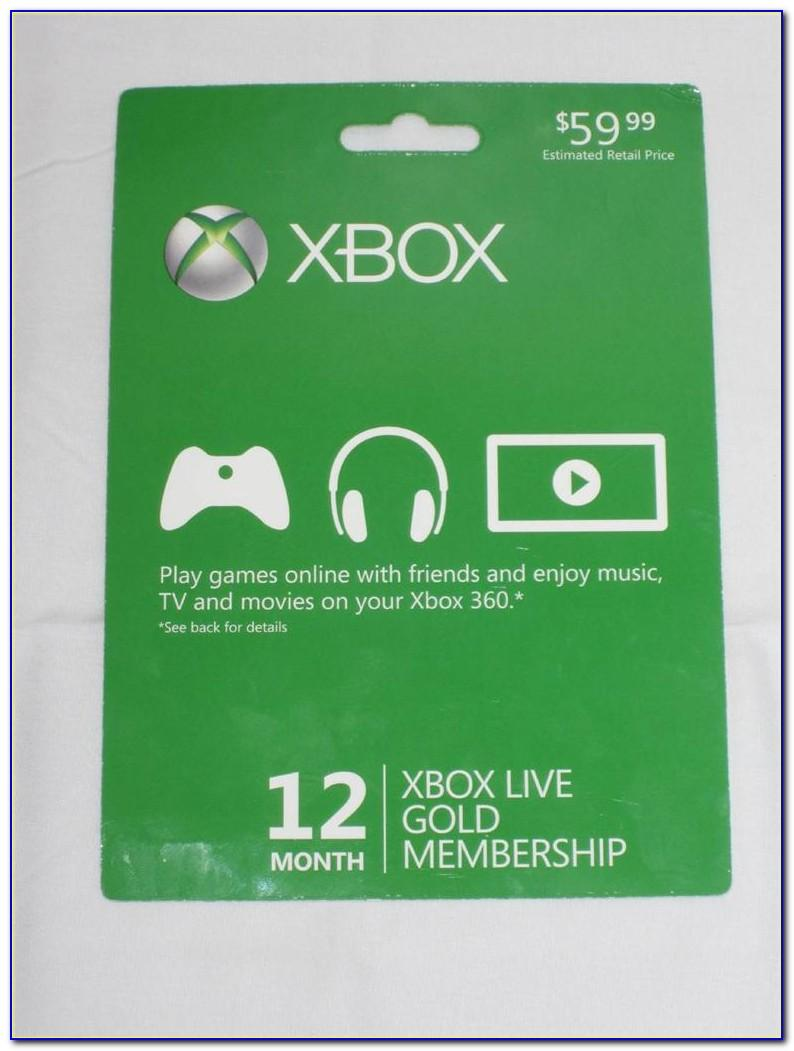 Free Xbox Live Cards 2019