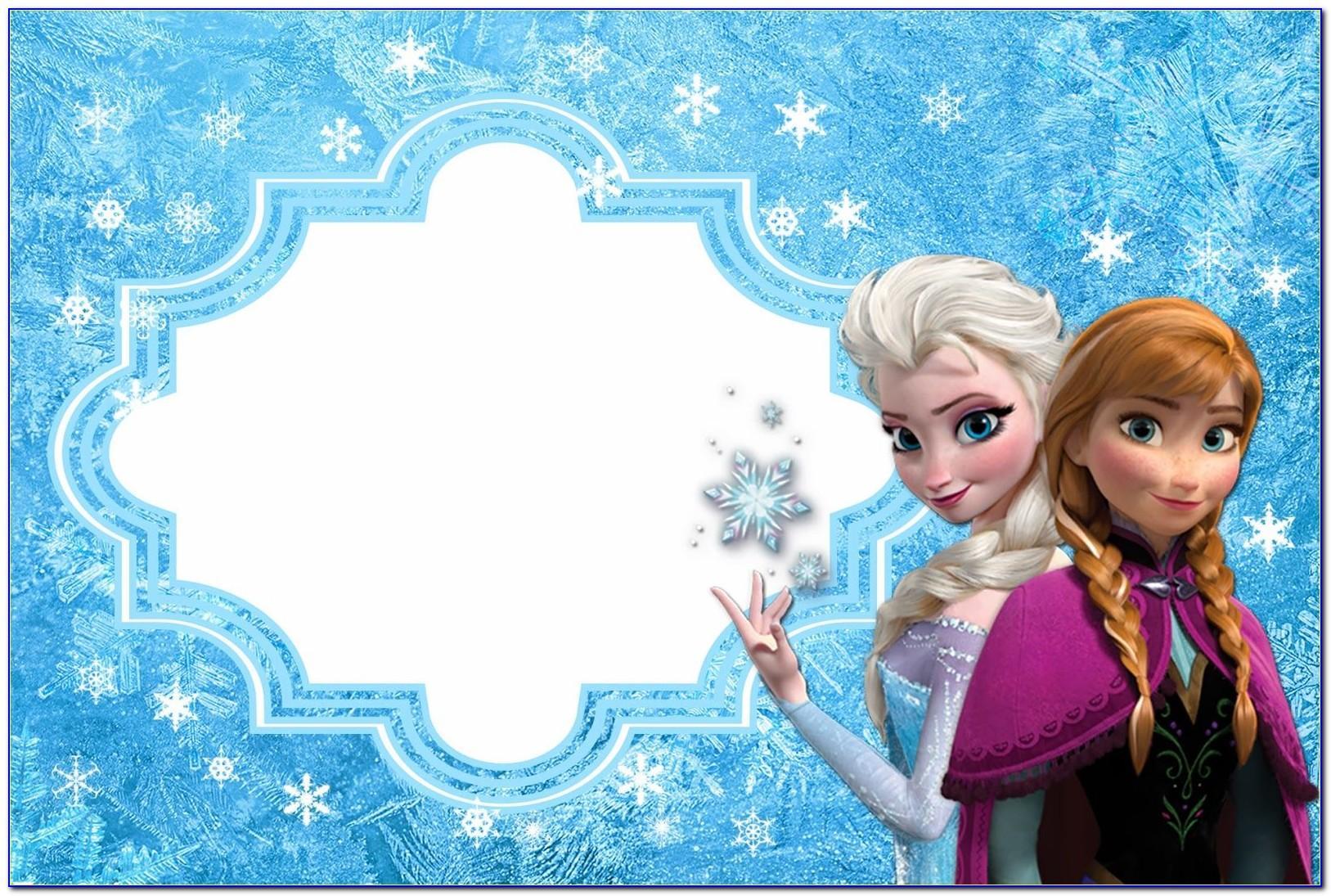 Frozen 2 Birthday Card Printable Free
