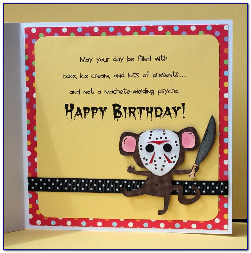 Funny Bicycle Birthday Cards