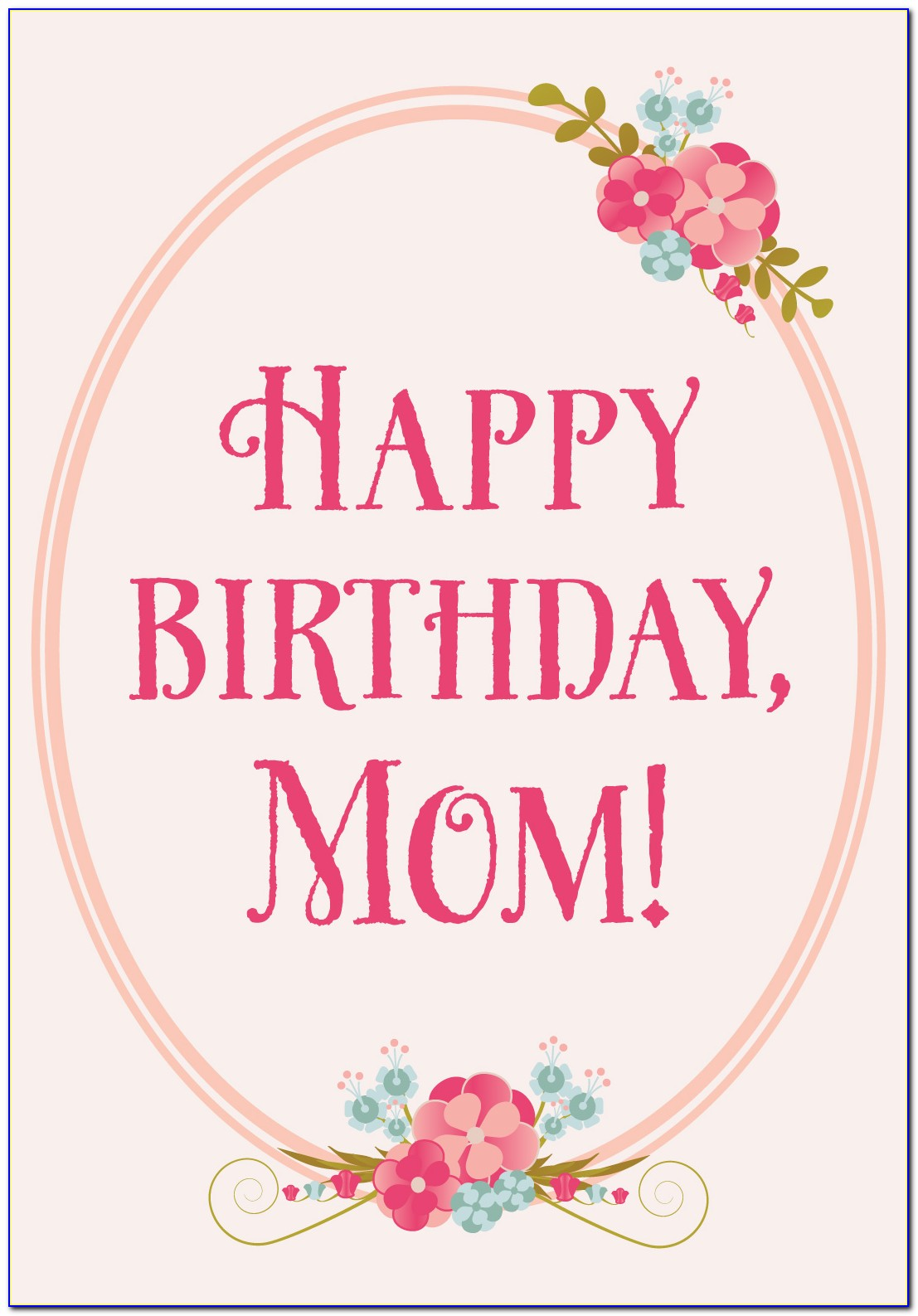 Funny Birthday Cards For Mom From Daughter