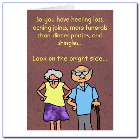 Funny Birthday Cards For Seniors