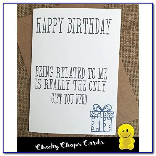Funny Brother Birthday Cards Free