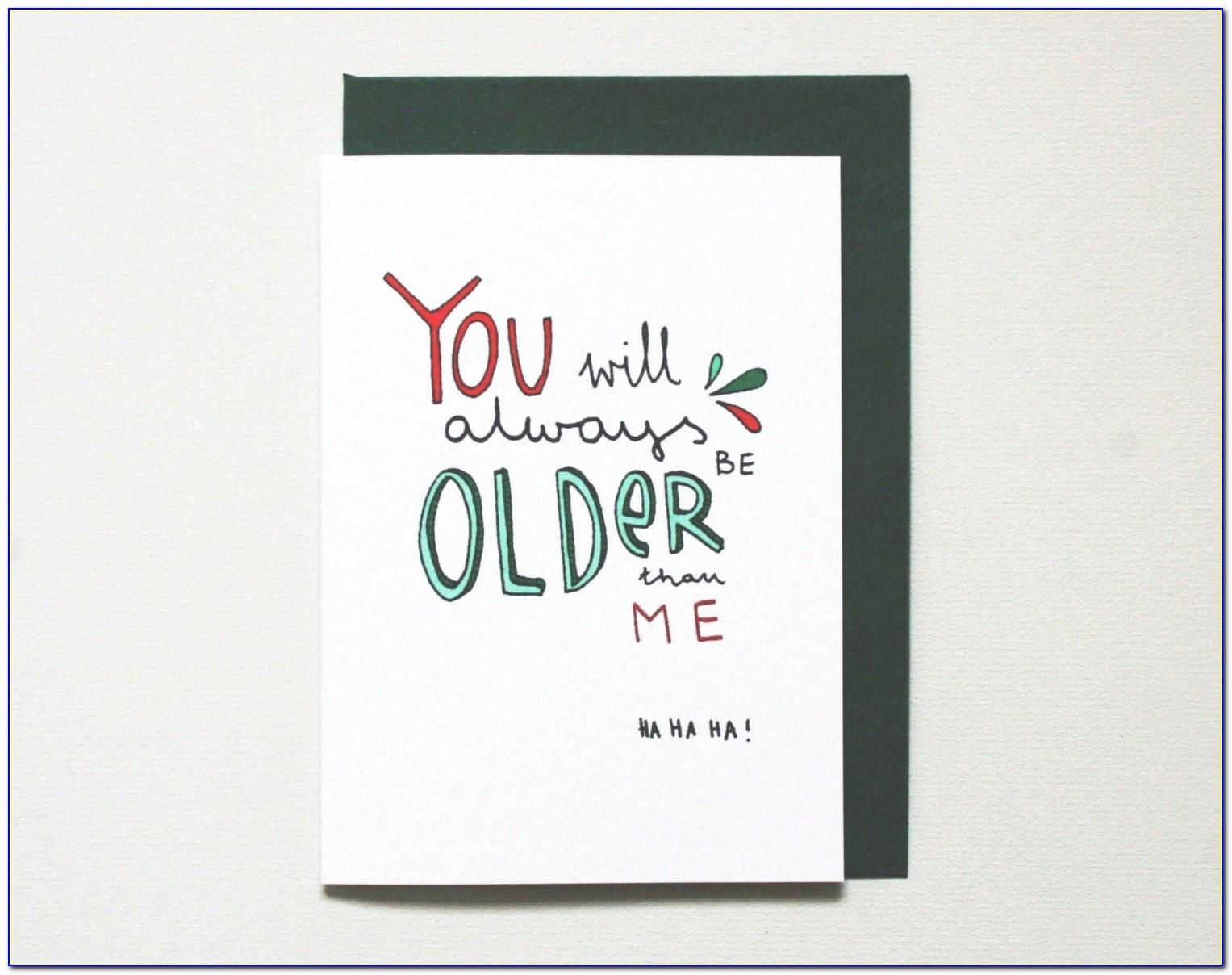 Funny Brother Birthday Cards Uk
