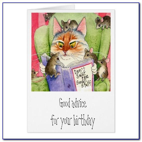 Funny Cat Birthday Cards Uk