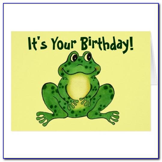 Funny E Birthday Cards For Men