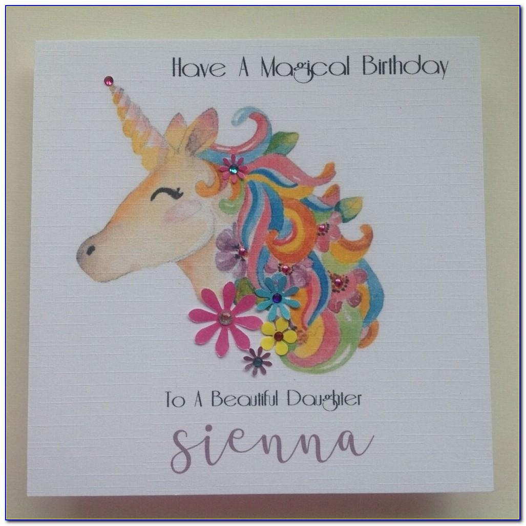 Funny Personalised Daughter Birthday Cards