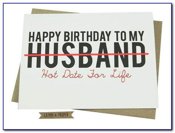 Funny Printable Birthday Cards For Husband