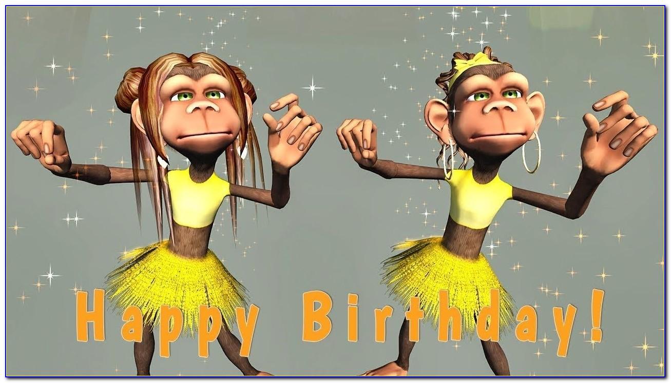 Funny Singing Happy Birthday Cards