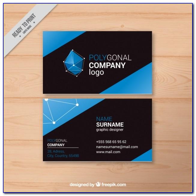 Geometric Business Card Holder
