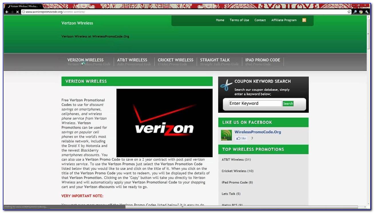 Get Free Verizon Refill Card