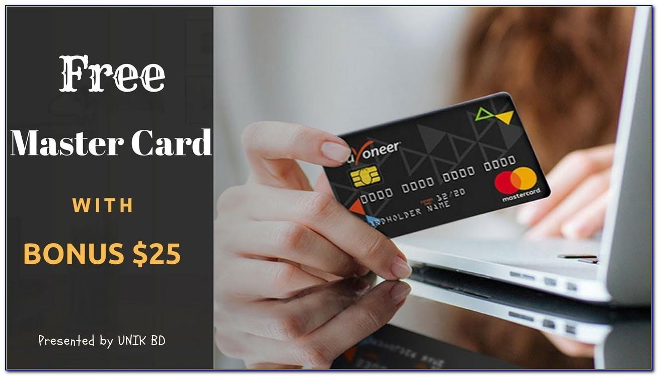 Get Payoneer Card Free