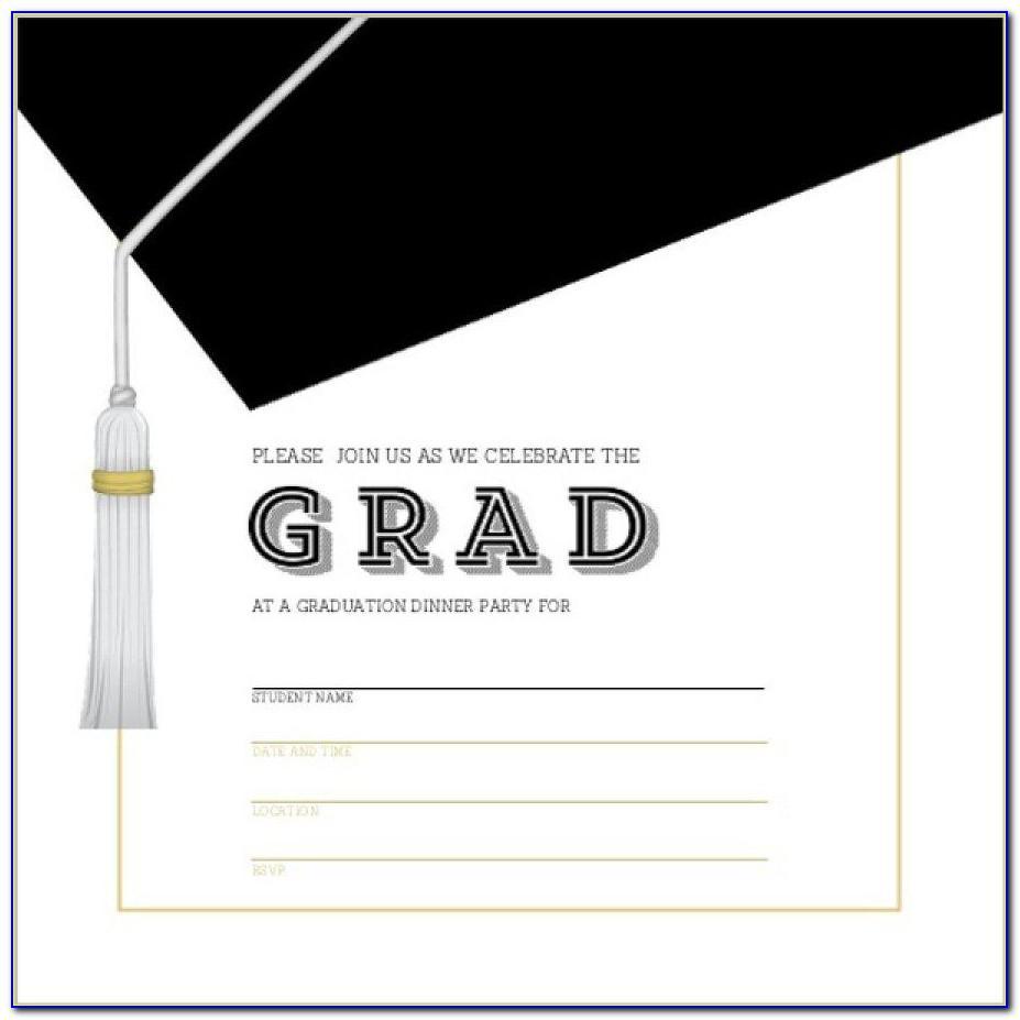 Graduation Card Template Word