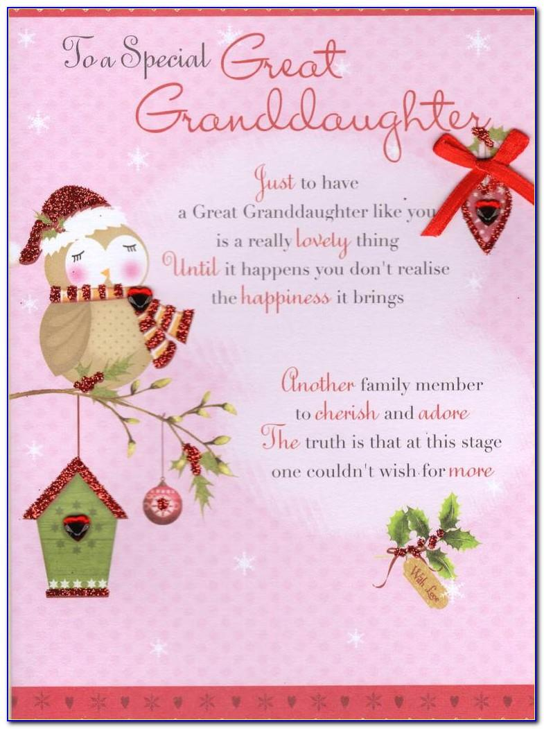 Grandchild Birthday Card Verses