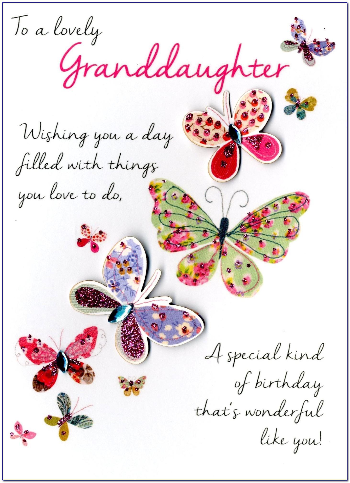 Great Granddaughter Birthday Card Verses