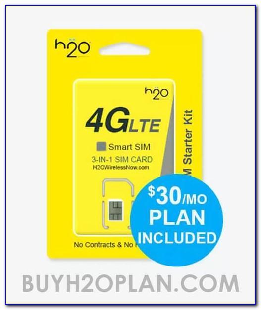 H2o Wireless Free Sim Card